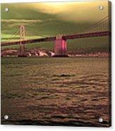 Bay Bridge, San Francisco Acrylic Print