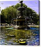 Bethesda Fountain - Central Park  Acrylic Print