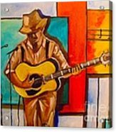 Bluesman Acrylic Print