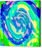 Bold And Colorful Phone Case Artwork Lovely Abstracts Carole Spandau Cbs Art Exclusives 134  Acrylic Print by Carole Spandau