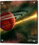 Born In Space Acrylic Print