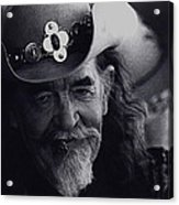 Born To The West Homage 1937 Buffalo Biil Helldorado Days Tombstone Arizona 1968-2008 Acrylic Print