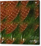 Brilliant Green Abstract 2 Acrylic Print
