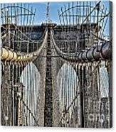 Brooklyn Bridge 3 Acrylic Print