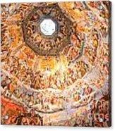 Brunelleschi Cupola Of Florence Duomo. Acrylic Print