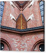 Buda Reformed Church Architectural Details Acrylic Print