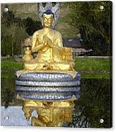 Buddha 25 Acrylic Print