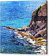 California Coastline  Acrylic Print by David Lloyd Glover