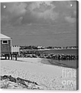 Cape Cod Winter Morning Acrylic Print by Catherine Reusch  Daley