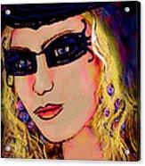 Casablanca Girl Acrylic Print
