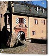 Castle Entrance Acrylic Print
