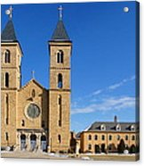 Cathedral Of The Plains Acrylic Print