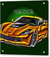 Chevrolet Corvette Z06 Acrylic Print