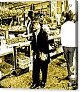 China Town Marketplace Acrylic Print