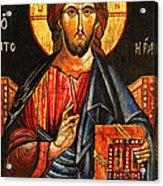 Christ The Pantocrator Icon II Acrylic Print