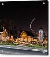 Christmas Celebration At Billy Graham Acrylic Print