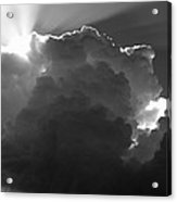 Clouds 1 Bw Acrylic Print by Maxwell Amaro