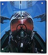 Colonel Dave Dollarhide Acrylic Print