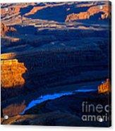 Colorado River Sunset Acrylic Print