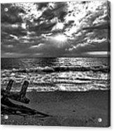 Colorless Sunset Acrylic Print by Bob Jackson