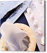Contraception Methods Acrylic Print by Jose Elias - Sofia Pereira