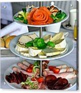 Decorative Food Acrylic Print