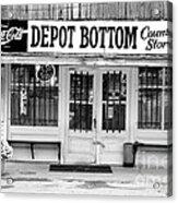 Depot Bottom Country Store Acrylic Print by   Joe Beasley