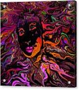 Desire On Fire Acrylic Print