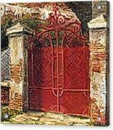 Door Acrylic Print