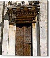 Doorway To The Duomo Acrylic Print