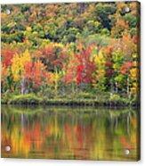 Echo Lake Fall Reflections Acrylic Print