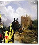 English Mastiff  - Mastiff Art Canvas Print - The Ruins Home Acrylic Print