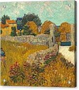 Farmhouse In Provence Acrylic Print