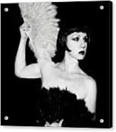 Feather Dancer Acrylic Print