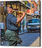 Feel It - Doreen's Jazz New Orleans 2 Acrylic Print