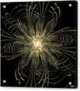 Filigree Flower Acrylic Print