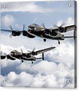 Flying Lancasters Acrylic Print