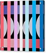 Fun Geometric  Acrylic Print