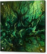 ' Garden Of Dreams ' Acrylic Print by Michael Lang