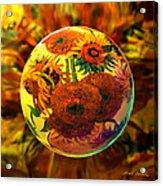 Van Globing Inflorescence Acrylic Print