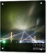 Golden Gate At Fifty Acrylic Print