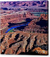 Grand View Point Overlook Acrylic Print