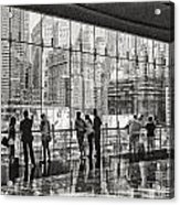 Ground Zero Acrylic Print by Wayne Gill