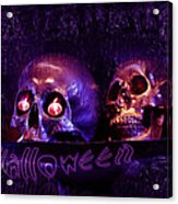 Halloween Party  Acrylic Print