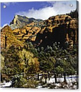 Hancock Ranch In The Wilderness Area Of Sedona Az  Acrylic Print