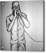 Harmonica  Sings Acrylic Print