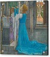 Isabella And The Pot Of Basil Acrylic Print