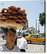 Istanbul Kulouria Seller Acrylic Print