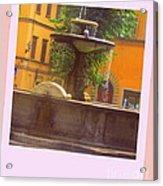 Italy San Spirito Acrylic Print by Lyn Vic