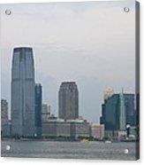 Jersey City Skyline Acrylic Print